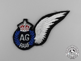 A Second War Royal Australian Air Force Air Gunner Wing