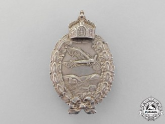 A First War Prussian Pilots Badge by Paul Meybauer of Berlin
