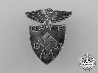 A 1933 NSLB (National Socialist Teacher's League) Event Badge