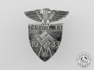 Germany, NSLB. A 1933 (National Socialist Teacher's League) Event Badge