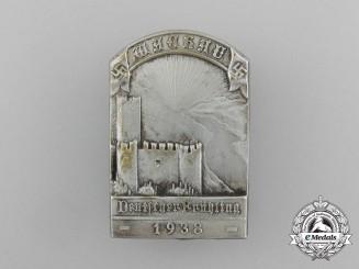 """A 1938 """"German Spring"""" Celebration Badge"""