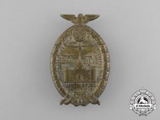 "A 1933 Baptism of the District Aviator Squadron ""Hermann Göring"" in Quakenbrück Badge"