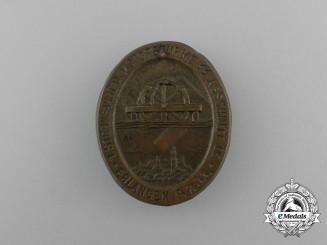 A 1933 SS 1st Rally of the Motorstorm Section IX Erlangen Badge
