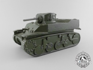 A Second War American Tank Recognition Model; Stuart M-5