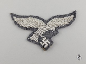A Second War German Luftwaffe Officer's Breast Eagle