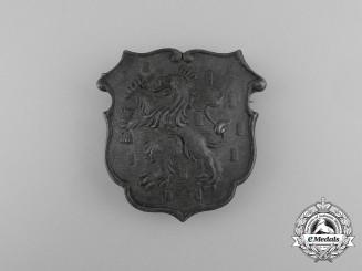 A Large First War Period Dutch Cap Badge