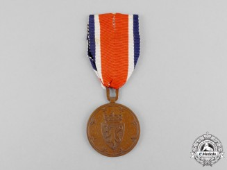 Norway, Kingdom. A Korea Service Medal 1951-1954