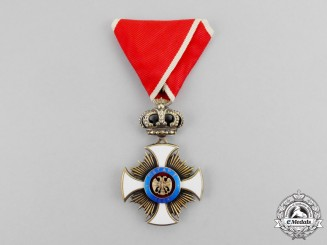 Serbia. An Order of the Star of Karageorge, 4th Class, Officer, by G.A. Scheid, c.1910