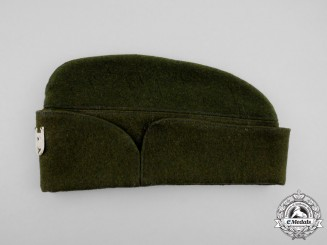 A Second War Croatian Ustasha Winter Field Cap