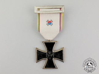 Colombia. An Iron Cross (Cruz de Hierro) for Korea
