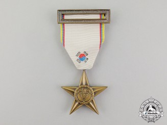 Colombia. A Bronze Star (Estrella de Bronce) for Korea