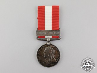 United Kingdom. A Canada General Service Medal to Private Wortman, 2nd Storrington Rifle Company