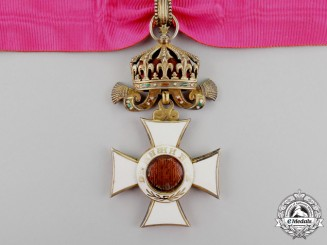 Bulgaria, Kingdom. An Order of St. Alexander; 3rd Class Commander's Cross, c.1915