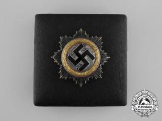 A Cased German Cross in Gold by Fritz Zimmermann of Stuttgart; Light Version