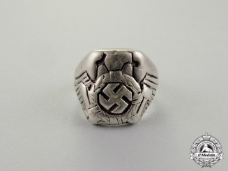 Germany. An HJ Silver Ring