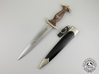 An Early Model 1933 NSKK  Dagger by Pfeilringewerk of Solingen
