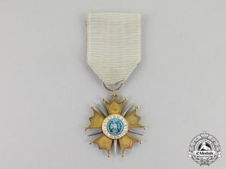 Guatemala. An Order of the Quetzal, 5th Class, Knight, Type I (1936-1941)