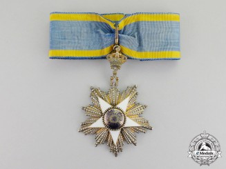 Egypt. An Order of the Nile (Nishan al-Nil), 3rd Class, Commander by Lattes of Cairo (Pre 1952)