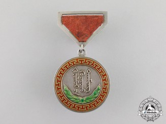 Mongolia. An Honourary Medal of Labour, Type I (c. 1941)
