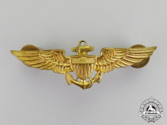 United States. A Navy (USN) Naval Aviation Pilot Badge by Gemsco