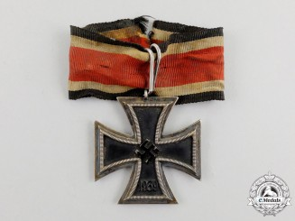 Germany. A Battle Worn EK 1939 Second Class Field Converted to a Knight's Cross