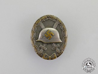 Germany. A Silver Grade Wound Badge by Official Mint of Vienna