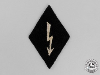Germany. A Single Waffen-SS Signalcorps Trade Patch