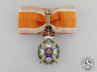 Serbia, Kingdom. A Serbian Order of Takovo, Commander's Cross