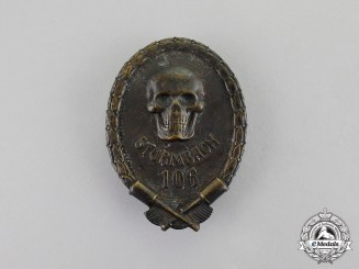 Austria, Imperial. A First War Austro-Hungarian Storm-trooper's Badge