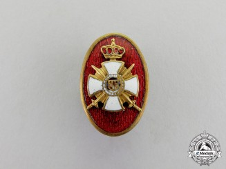 Serbia, Kingdom. A Badge of the League of the Order of Karageorge Recipients
