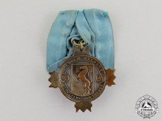 """Germany. A 1935/36 Neuss""""Shooting King"""" Marksmanship Competition Badge"""