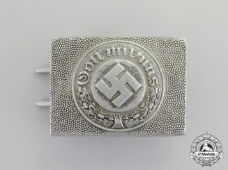 Germany. A Police Standard Enlisted Man's Belt Buckle