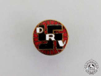 Germany. A German Bicycle Club (DRV) Membership Badge by Lehmann