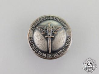 Germany. A 1936 Leipzig Day of Jurists Badge by Klotz & Kienast