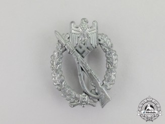 Germany. A German Silver Grade Infantry Assault Badge