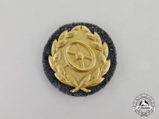 Germany. A Mint & Unissued Gold Grade Luftwaffe Driver's Proficiency Badge