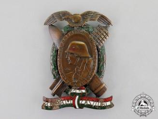 Austria-Hungary. An Imperial First War Period Austrian/Hungarian Regimental Badge