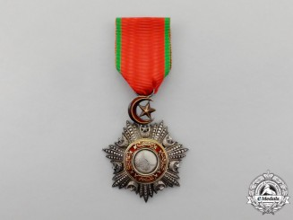 A Turkish Ottoman Empire Order of Medjidie (Mecidiye), Knight, 5th Class