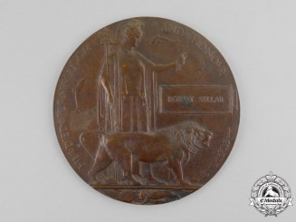 United Kingdom. A Memorial Plaque, 1st/7th Battalion, Gordon Highlanders, July 27, 1918