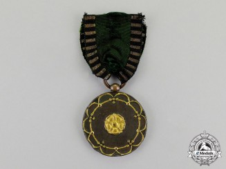 Saxony-Gotha Altenburg. A 1814-1815 Issue War Medal for Officers