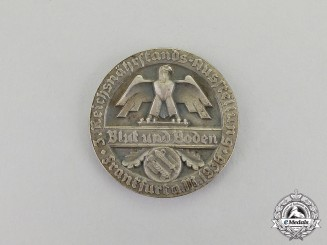 Germany. A 1936 Reichsnährstand Frankfurt Exhibition Medal for Tabacoo Production