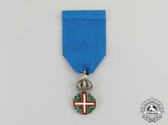 Sardinia, Kingdom. A Military Order of Savoy, Type I, c.1817