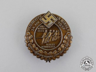 Germany. A 1937 Minden District Meeting Badge