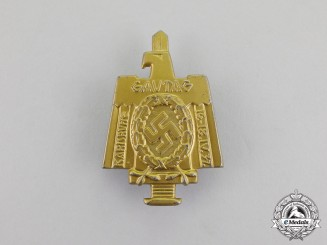 Germany. A 1937 Karlsruhe District Council Day Badge