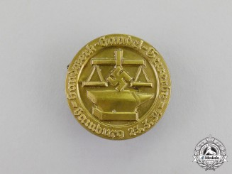 Germany. A 1934 Hamburg Craftsmen and Commerce Association Badge