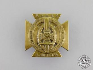 Germany. A 1934 NSKOV District Münster-Gelsenkirchen Meeting Badge