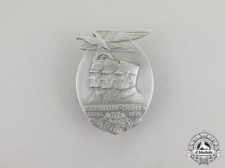Germany. A 1936 2nd SA Nordmark Meeting Badge