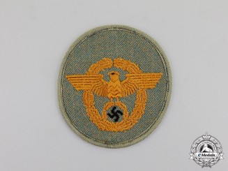 Germany. An Early & Mint Pattern German Gendarmerie NCO's Sleeve Insignia