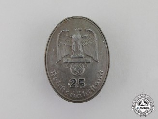 "Germany. A Reichsnährstand ""Blood and Soil"" 25-Year Long Membership Badge"