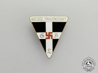 Germany. A National Socialist Women's League Membership Badge; Large Type